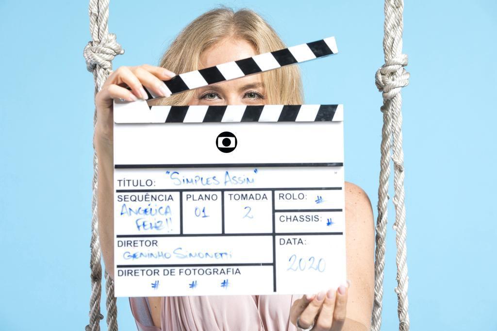 Angélica promove seu novo programa Simples Assim