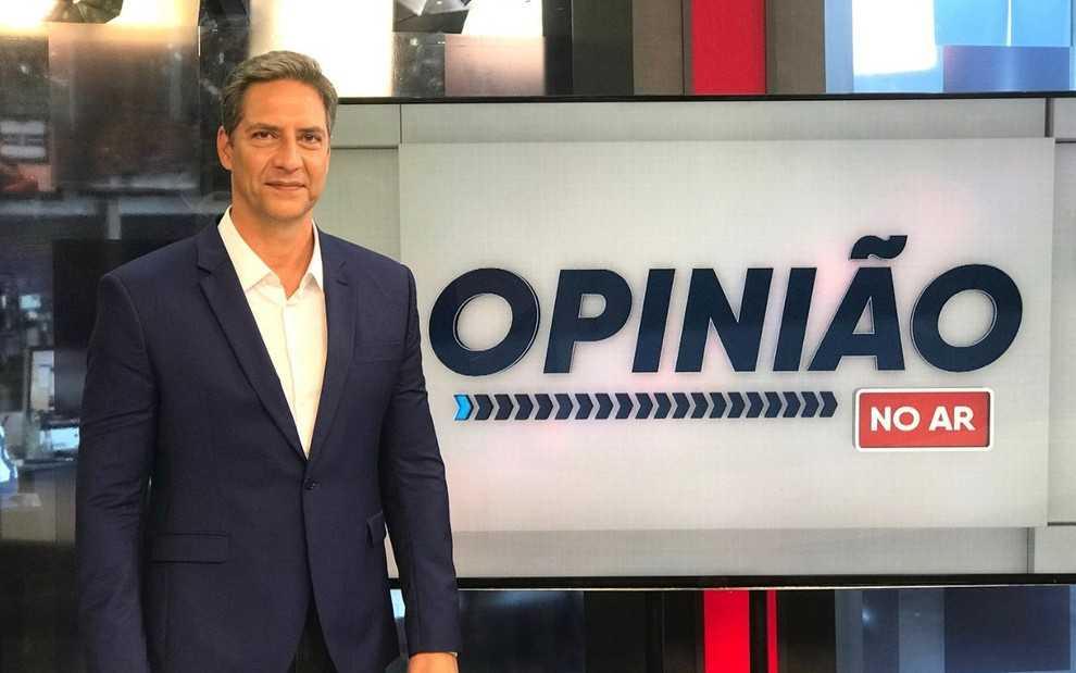 RedeTV! anuncia novo programa; Opinião no Ar com Luiz Ernesto Lacombe