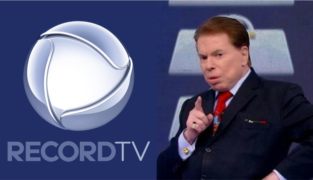 Record estuda tirar dois nomes de peso do SBT emissora de Silvio Santos