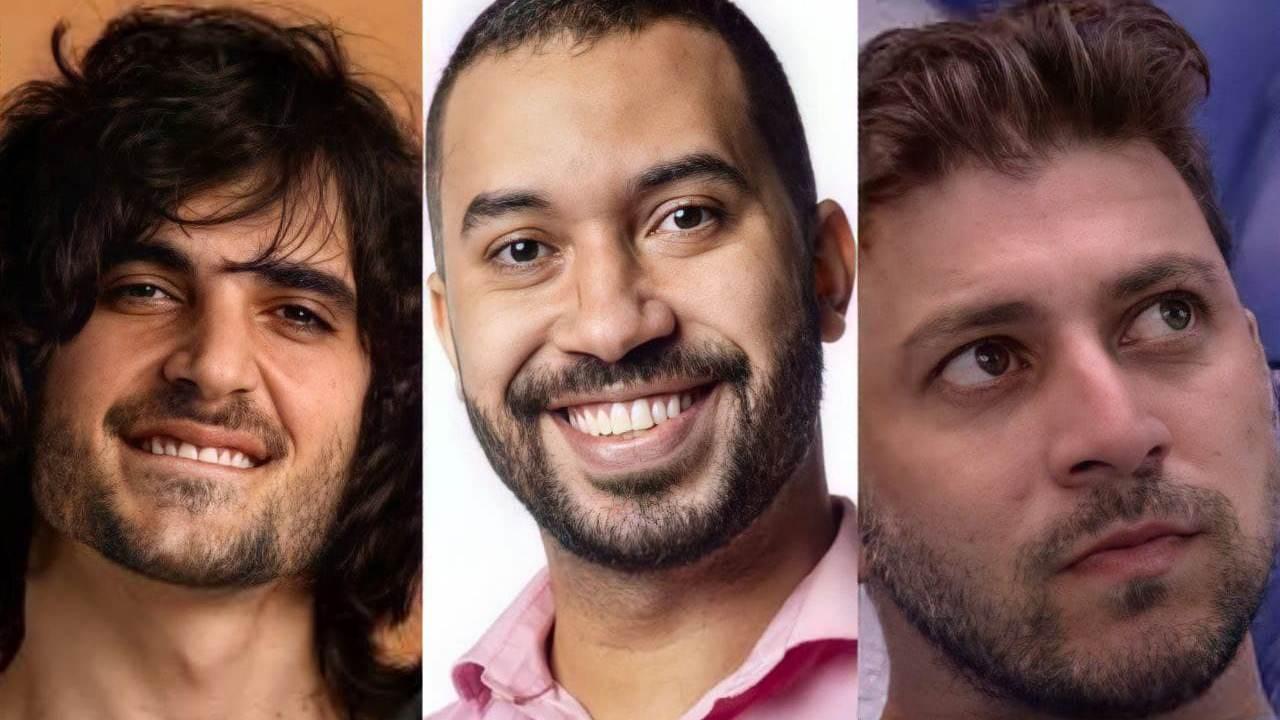 Fiuk, Gil e Caio, estão no paredão do BBB; Quem deve sair?