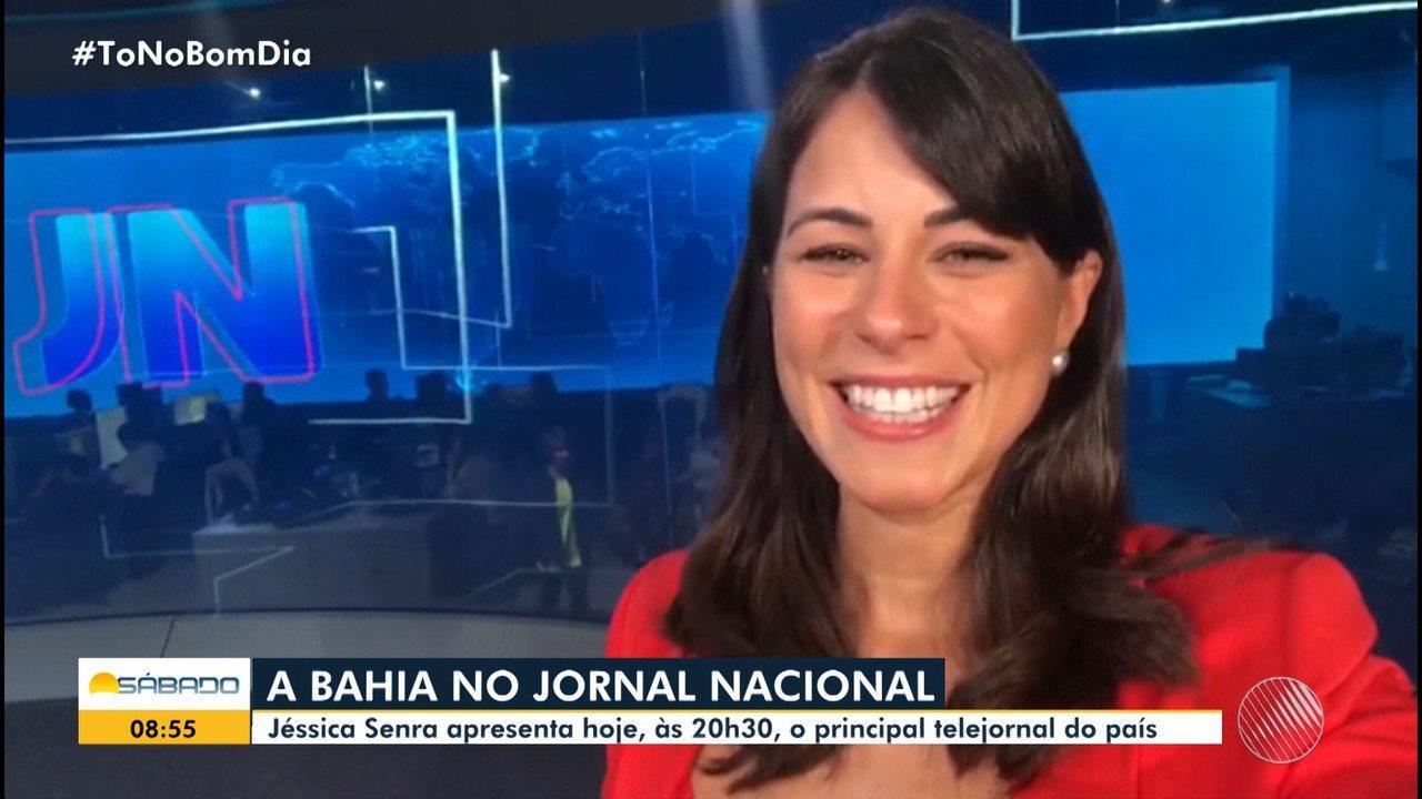 Jéssica Senra, que apresenta o Bahia Meio Dia da Globo Bahia, deixou a apresentação do jornal se afastou da emissora por tempo indeterminado.