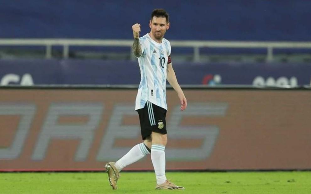 Argentina estará na Copa América no SBT