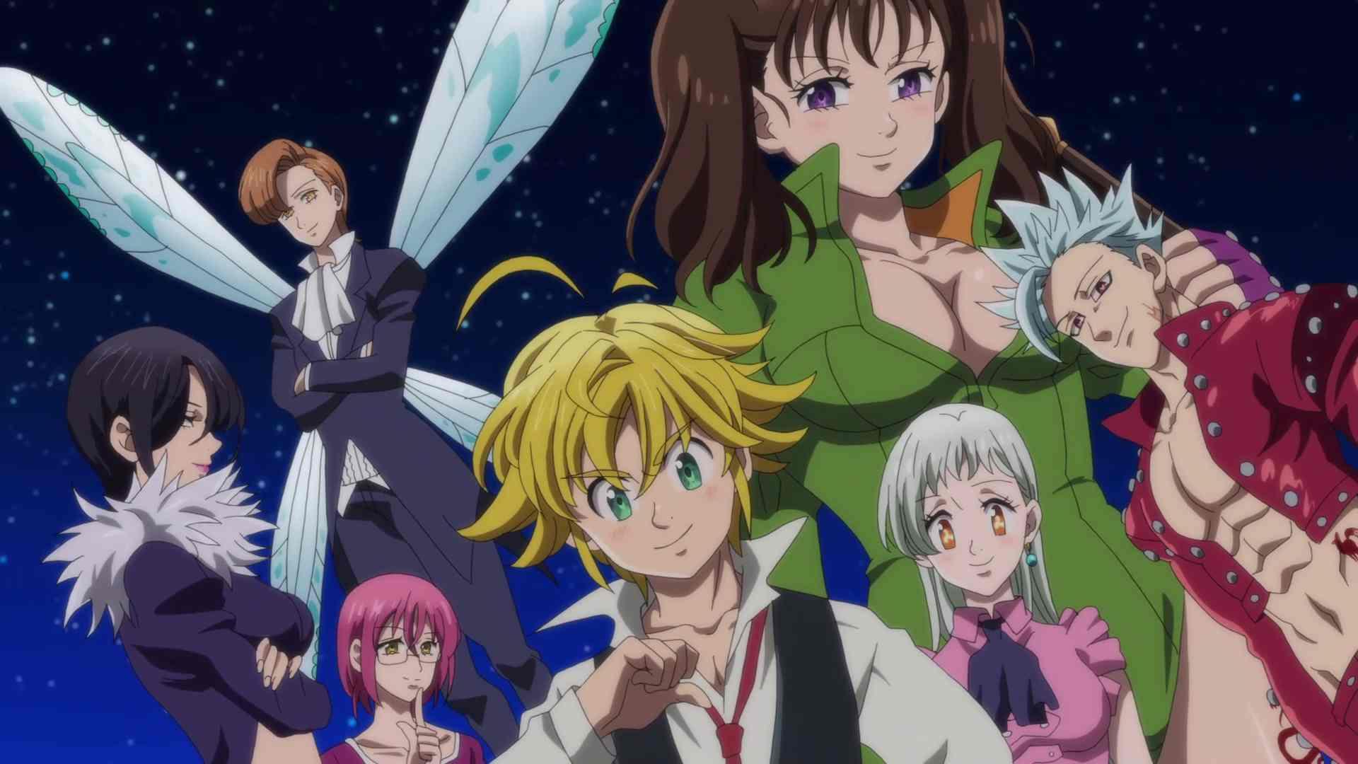 Nanatsu no Taizai, ou Os Sete Pecados Capitais, chegou ao fim hoje na emissora de TV Japonesa, TV Tokyo, após 7 anos de exibição.
