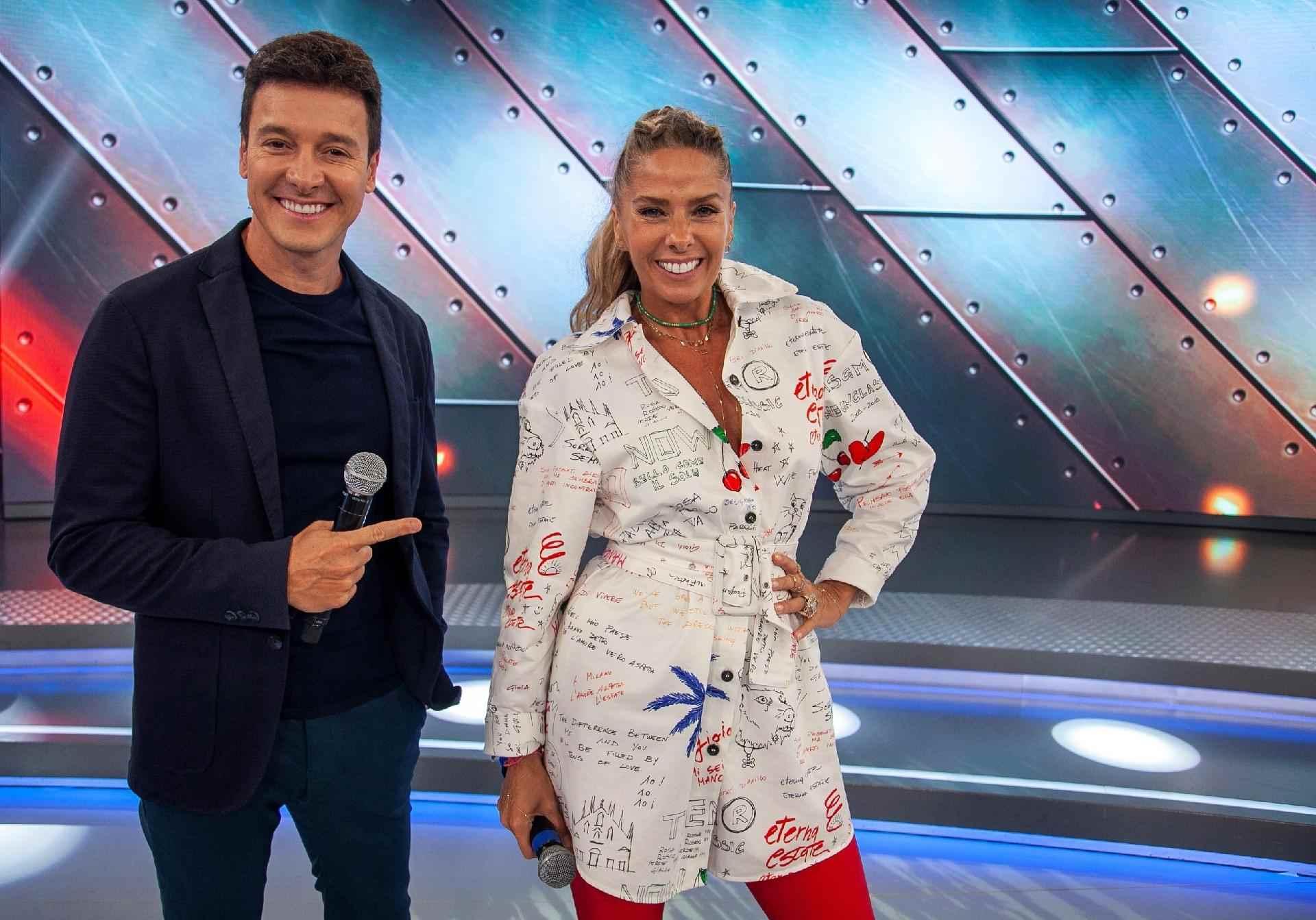Adriane Galisteu e Rodrigo Faro