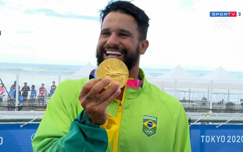 Primeira medalha de ouro