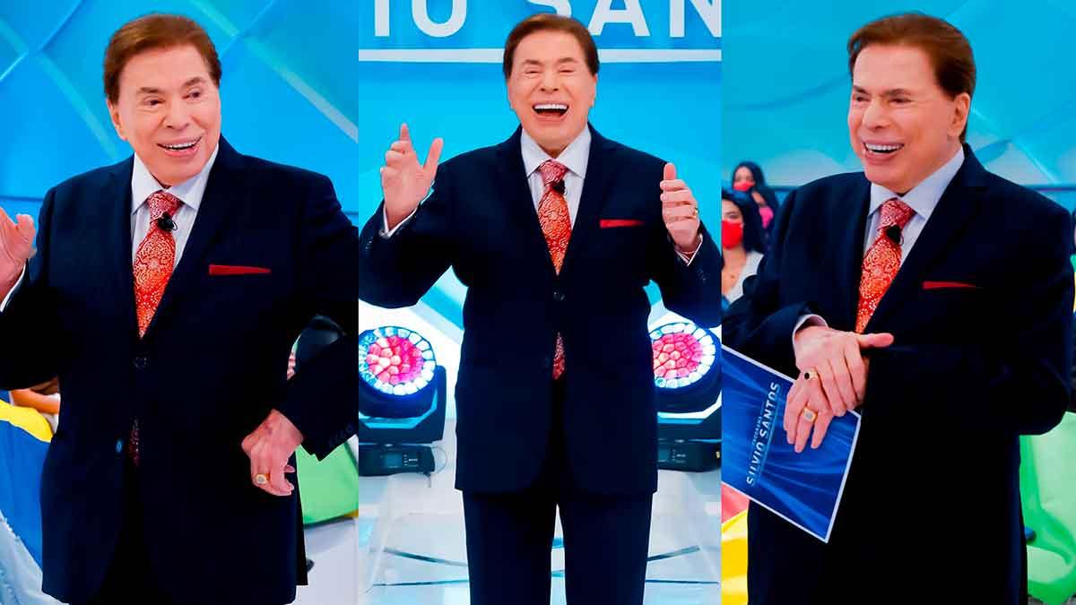 Silvio Santos volta com programas inéditos no SBT 01/08/21