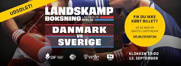 Resultater, Danmark vs Sverige