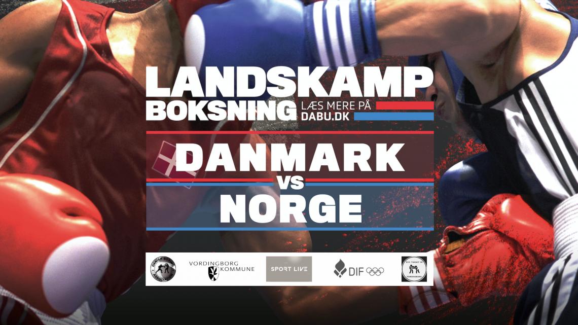 Pressemeddelelse – Landskamp i Vordingborg
