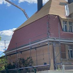 Sarnierung eines Daches