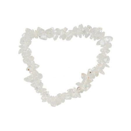 Bergkristal kinderarmbandje split 13 cm