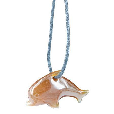 Dolfijnhanger Carneool