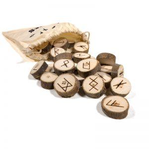 Runen Orakelspel in katoenen tasje