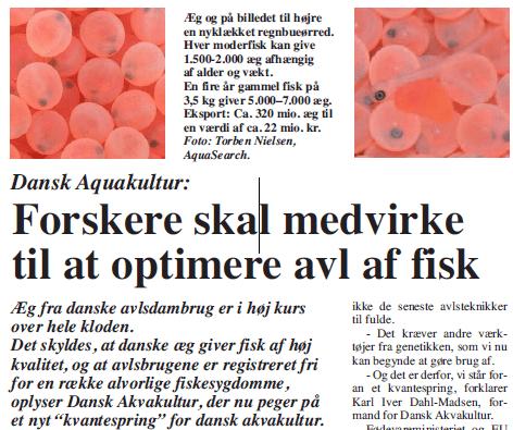 Et kvantespring for dansk akvakultur