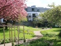 Eegebjerg plejehjems have,foto: gentofte kommune