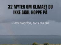Anmeldelse af Johannes Krügers bog:  32 Myter om klimaet du ikke skal hoppe på
