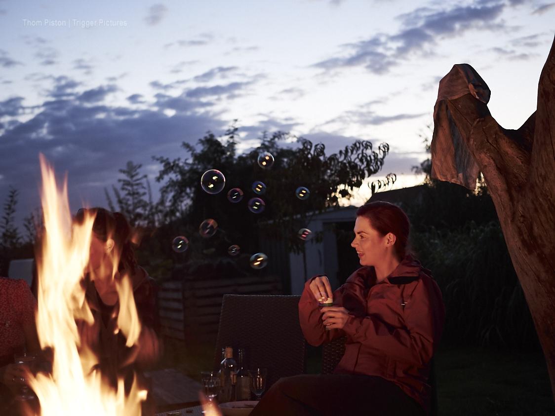 Feuertonne & Freunde im Dakota Home