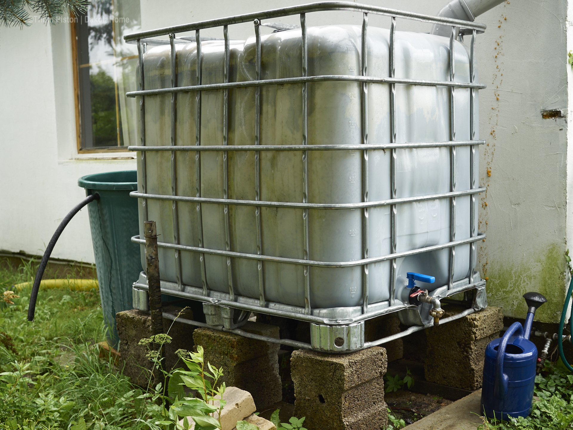 Dakota Home 1000 Liter Fass
