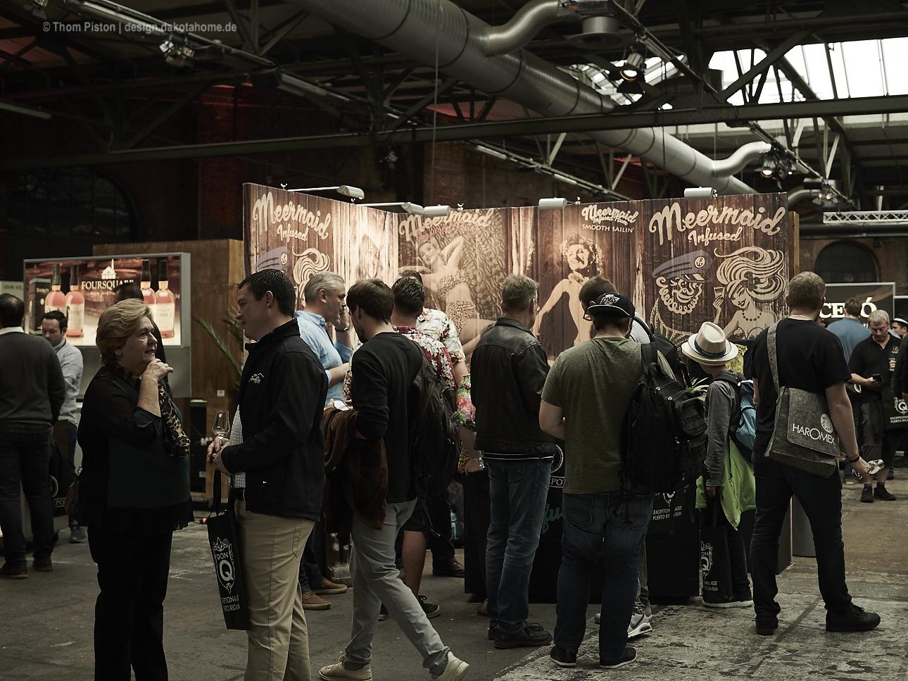 7. German Rum Festival, Meermaid Rum Booth, Design: Thom Piston
