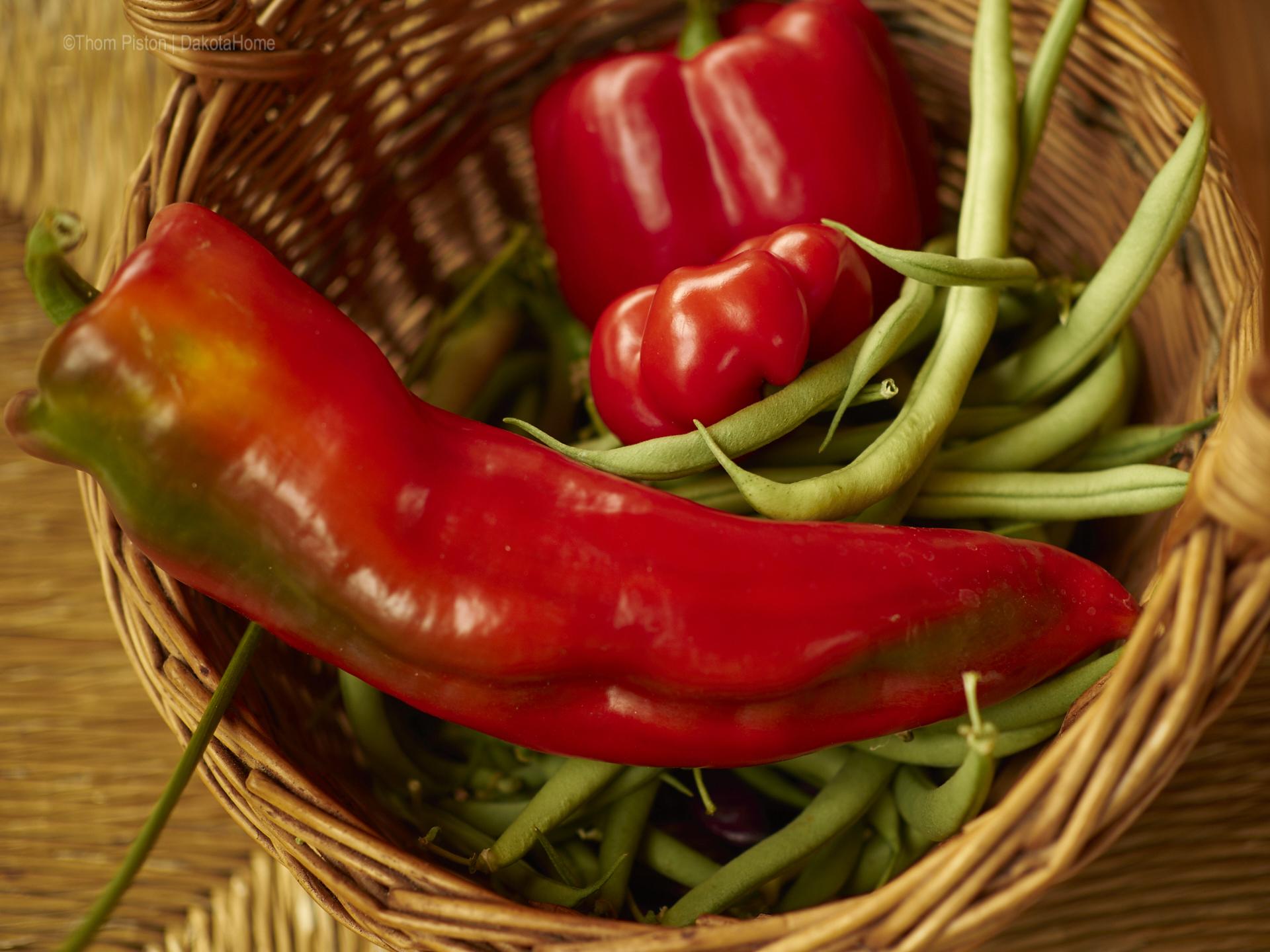 Bohnen und Paprika können wir auch...