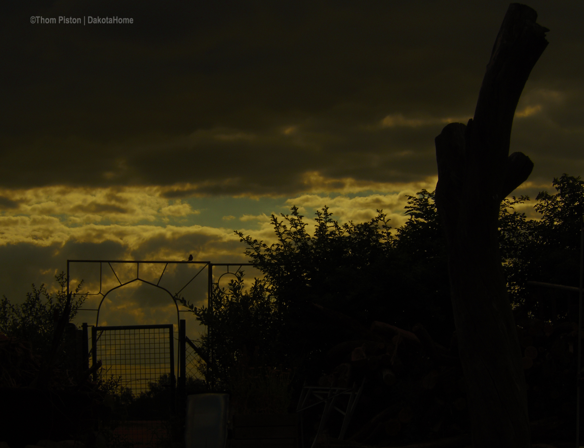 Sonnenuntergänge at Dakota Home..