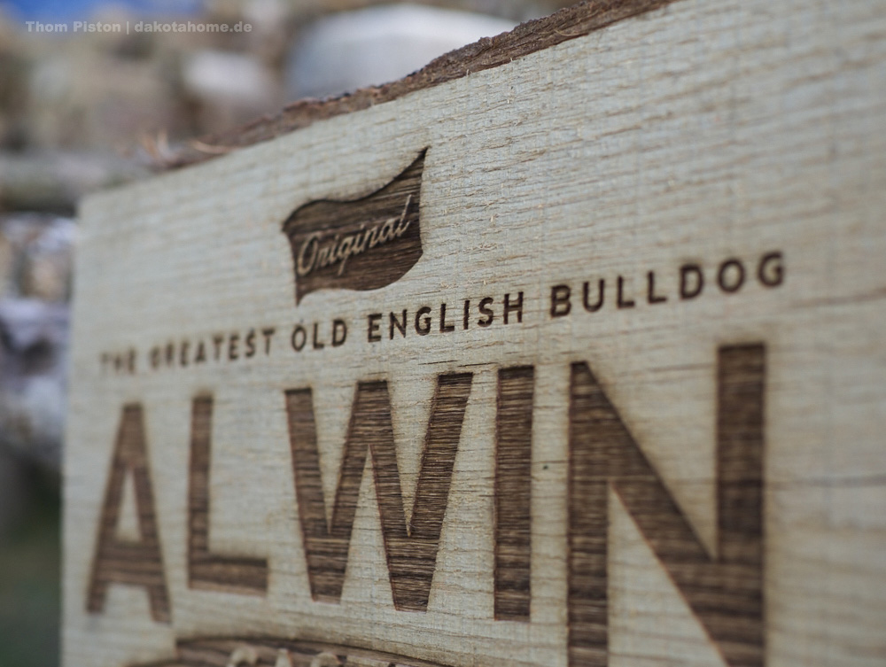 Hundehütte for The Greatest Old English Bulldog ALWIN