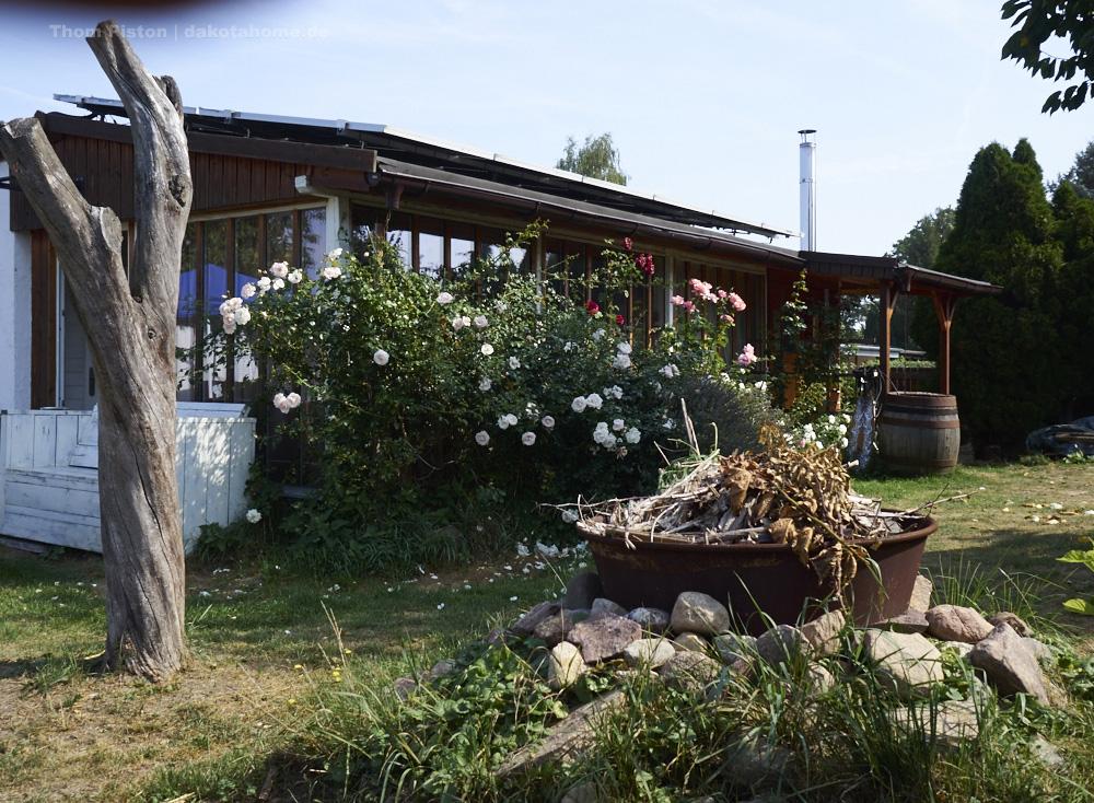 das Dakota Home Tinyhouse in Brandenburg, ende August 2019