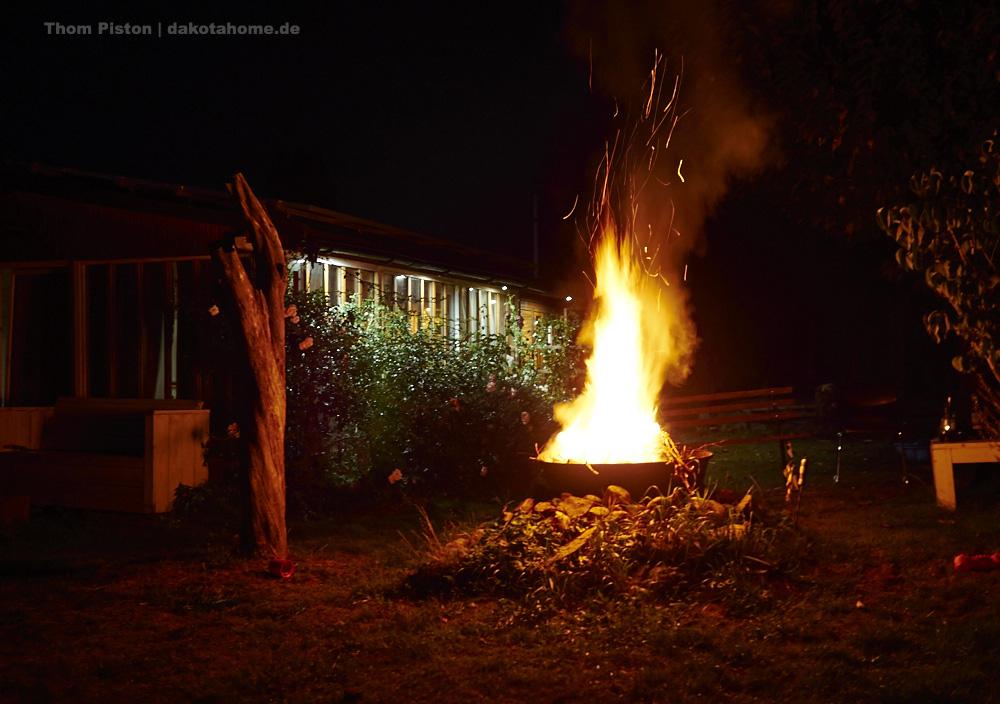 Feuertonne at Dakota Home, brandenburg