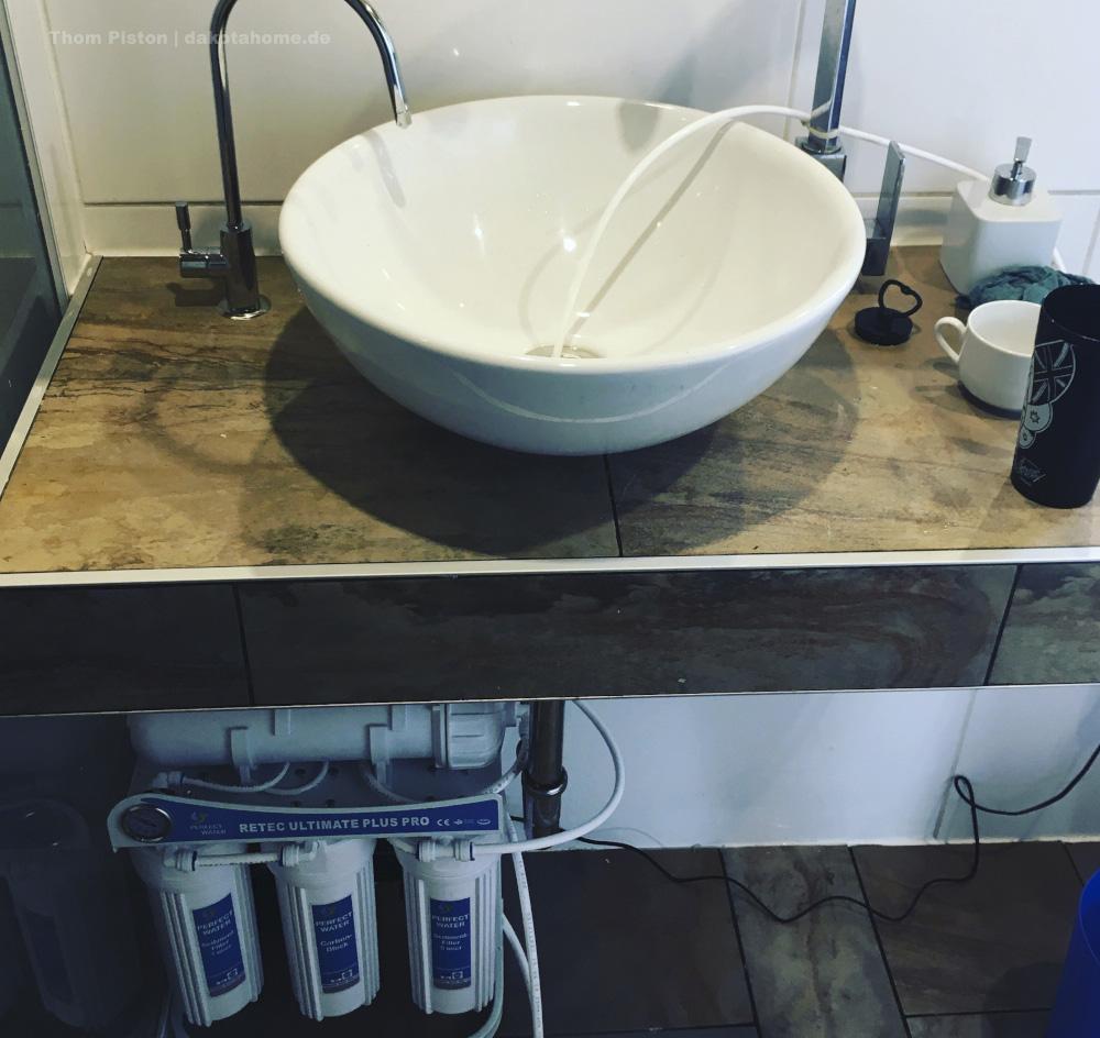 tinyhouse brandenburg mit reverse osmose anlage, ab jetzt, Ende Oktober 2019