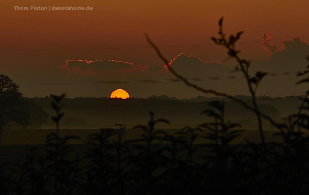Sonnenuntergang deluxe in Brandenburg