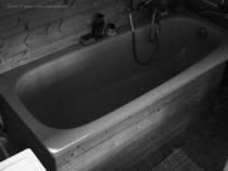 Badewannenverkleidung aus Resten selber bauen