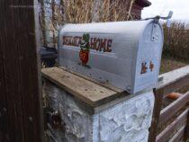 Dakota Home hat einen Briefkasten