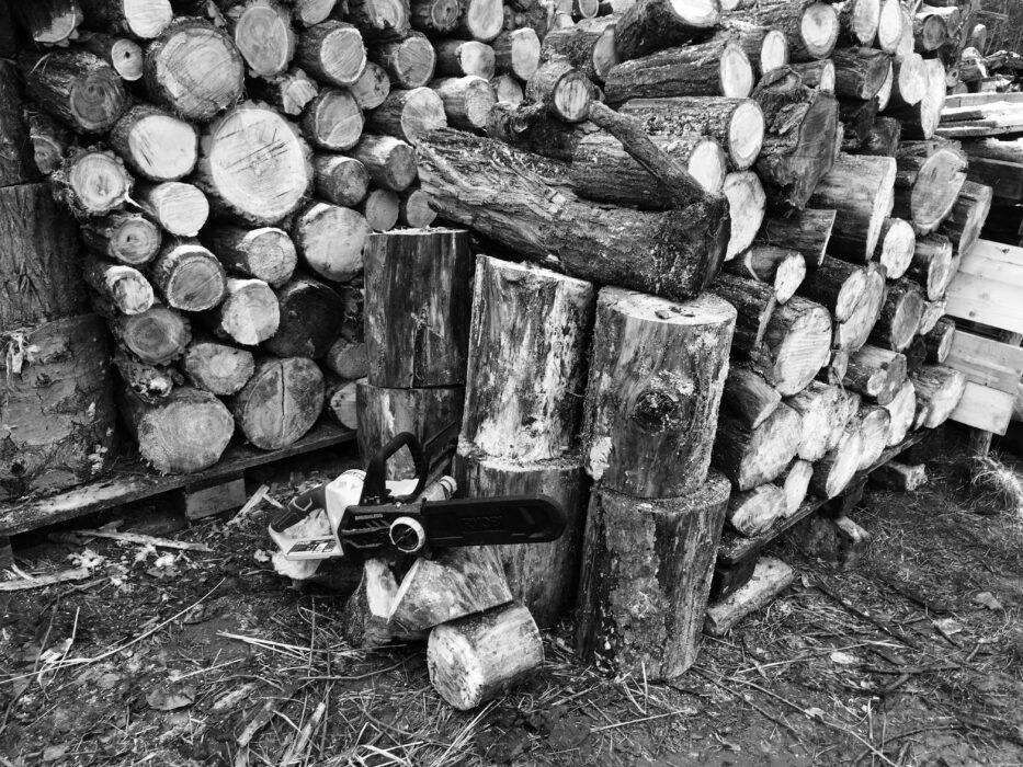 Holz ....kann man nicht genug haben..