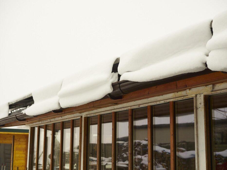 nach dieser beschissenen Kälte kam immer mehr Schnee