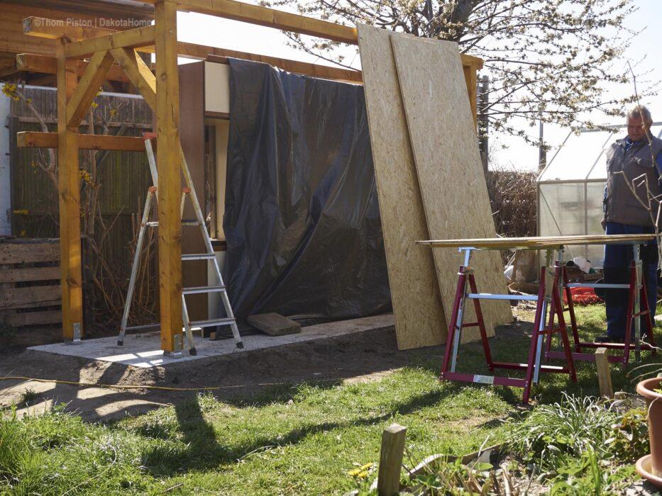 Outdoor Küche Dach