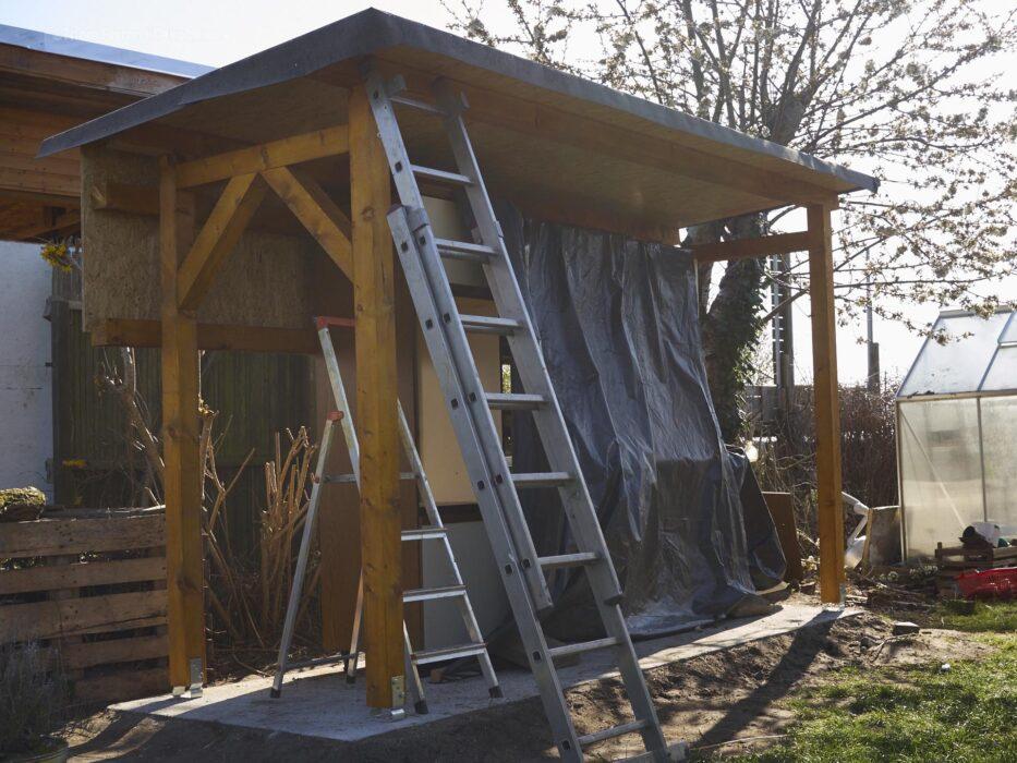 Aussenküche Dachpappe