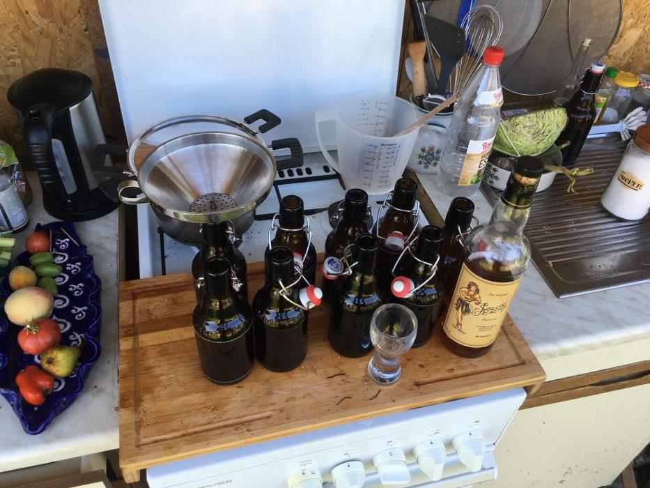 Pfirsich Rum Longdrinks