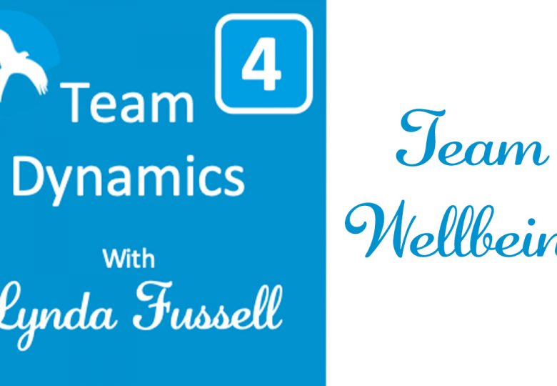 Team Dynamics Series - Part 4 Team Wellbeing