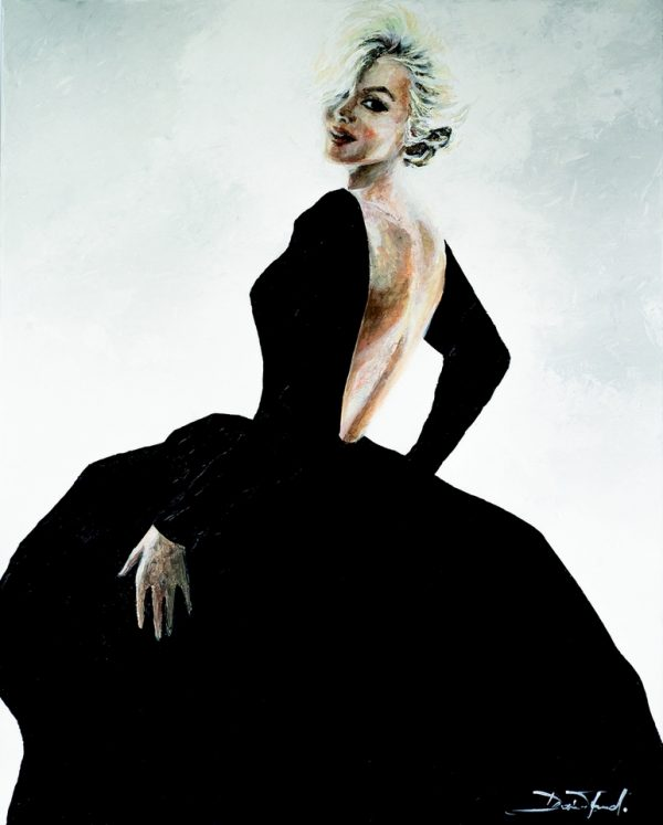 96PPPCollection Black Dress Norma Jean JO