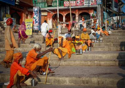 Billede 26, PA200329, Orangeklædte sannyasins