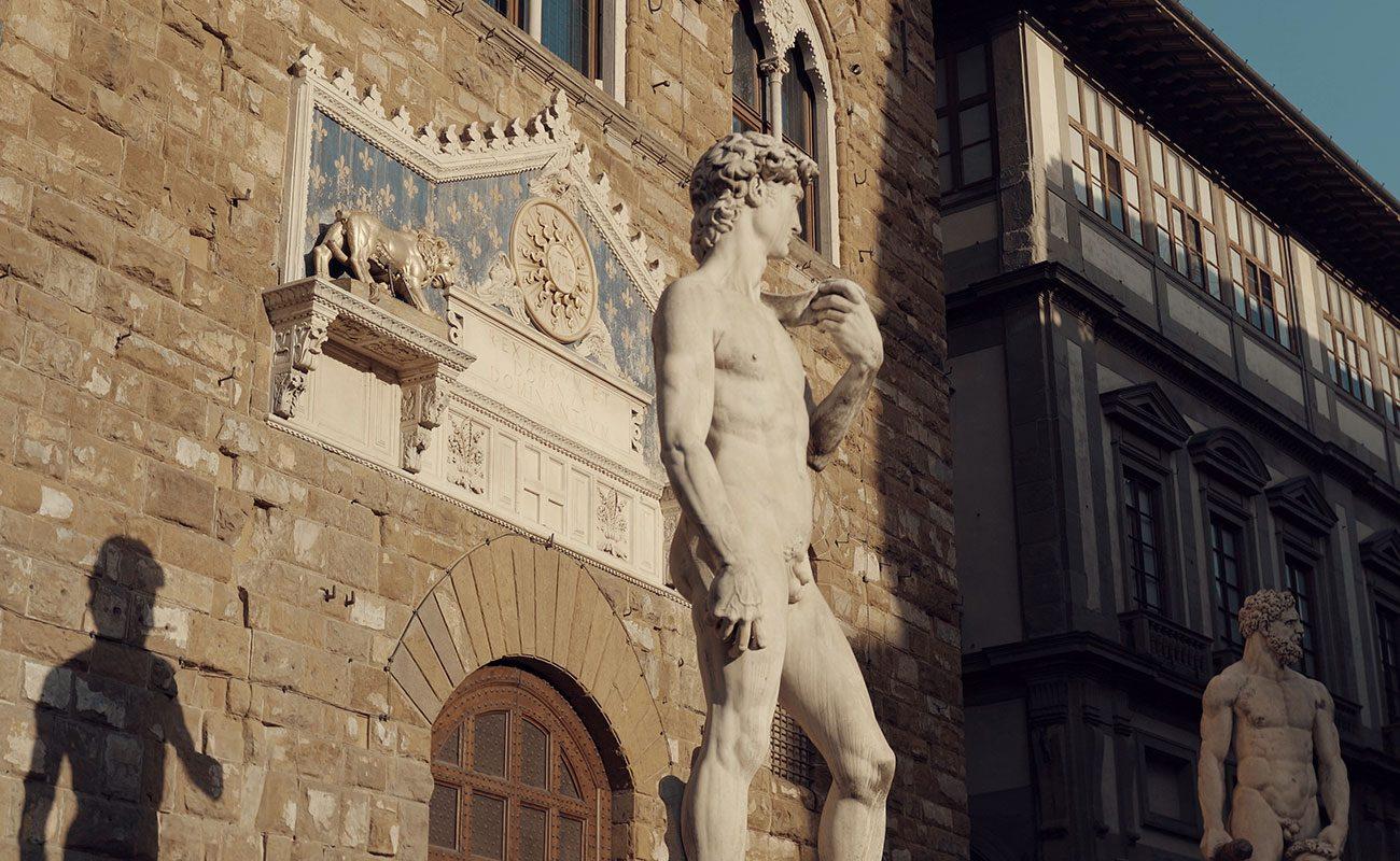 firenze statua Raffaello