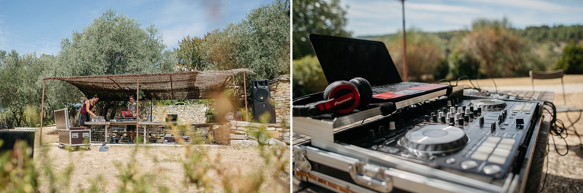 Traumhafte Hochzeit in der Provence. DJ Team - MYNONZO