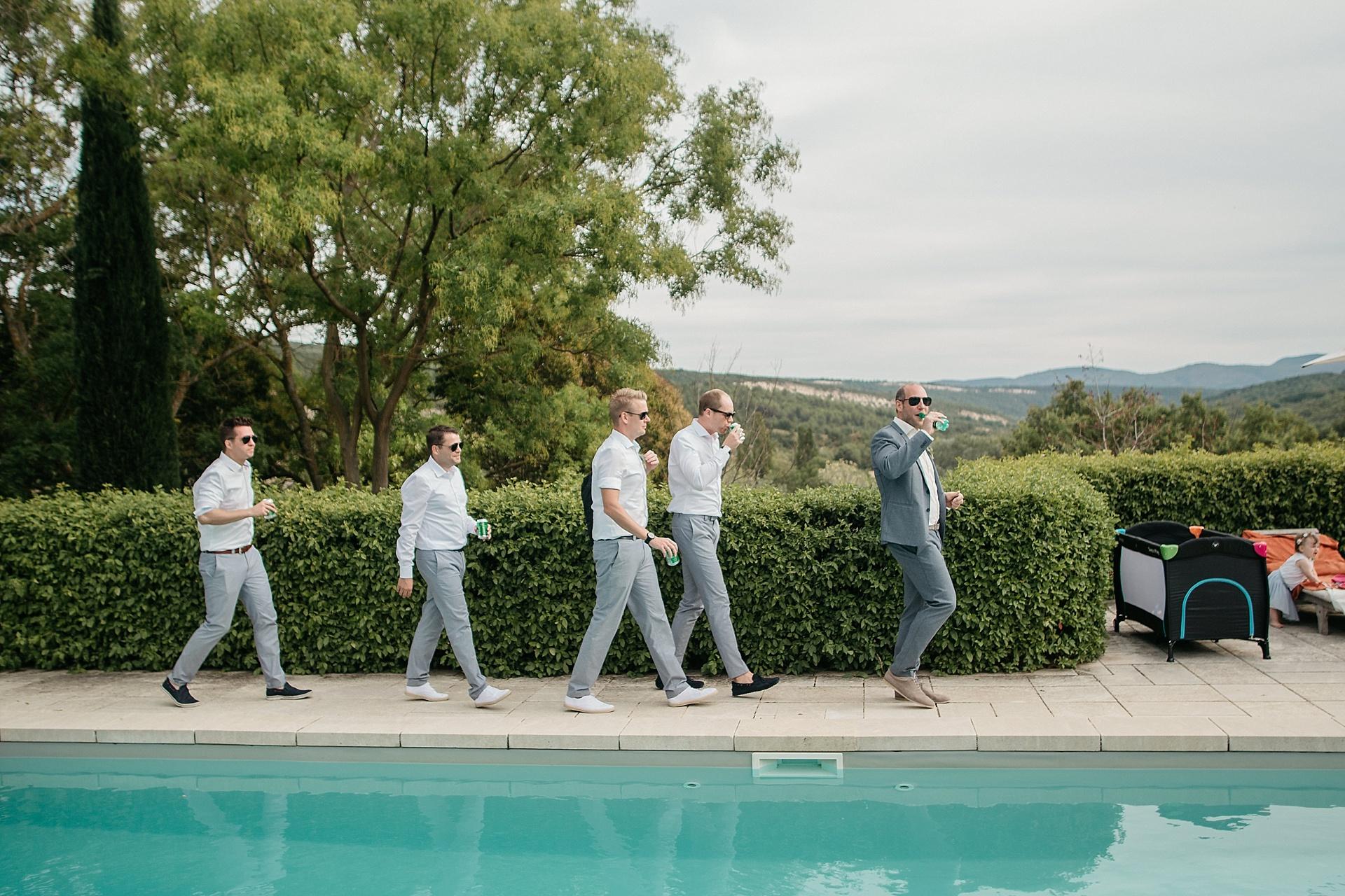 Traumhafte Hochzeit in der Provence.