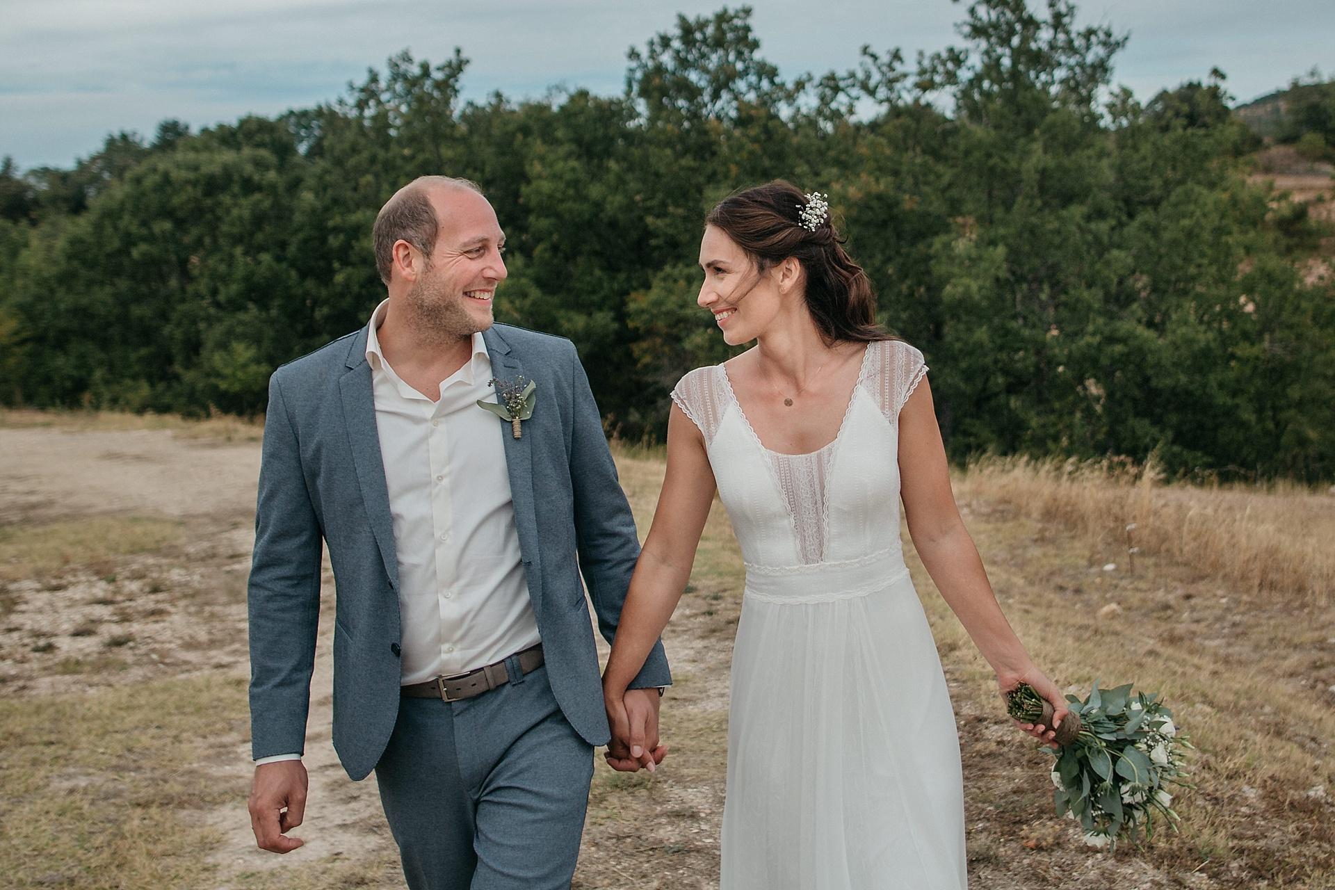 Traumhafte Hochzeit in der Provence. Brautpaarshooting.