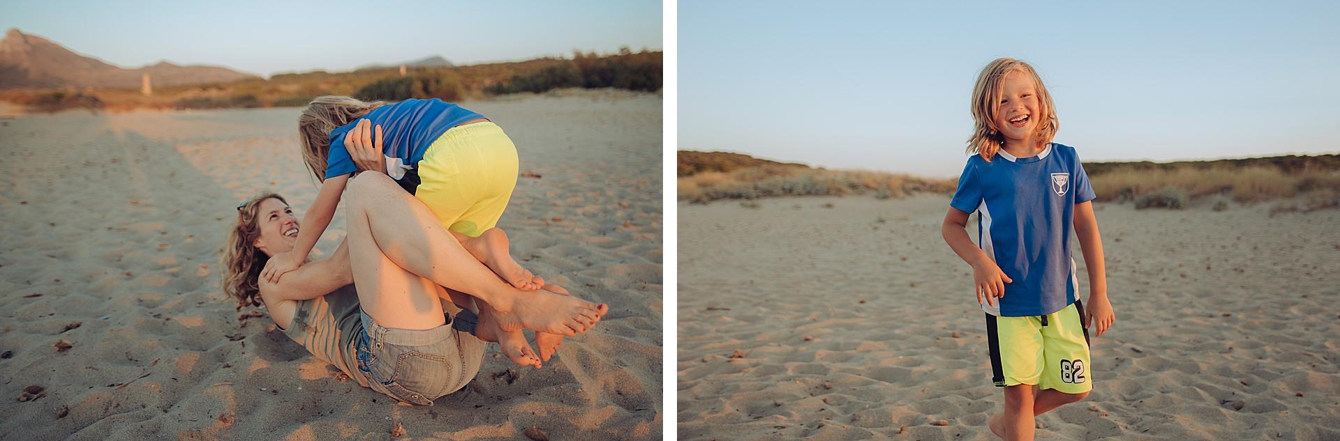 Fun at the beach - Son Serra de Marina