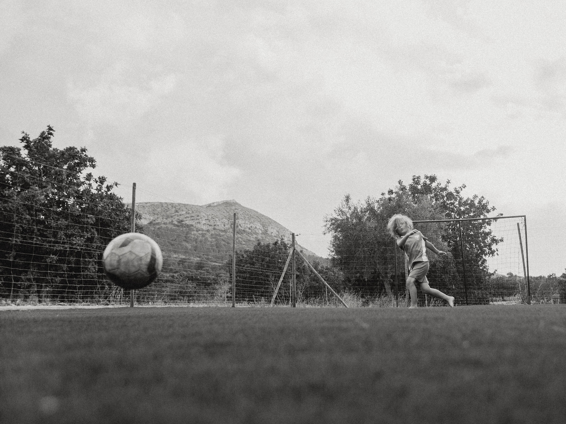 Barefoot Soccer