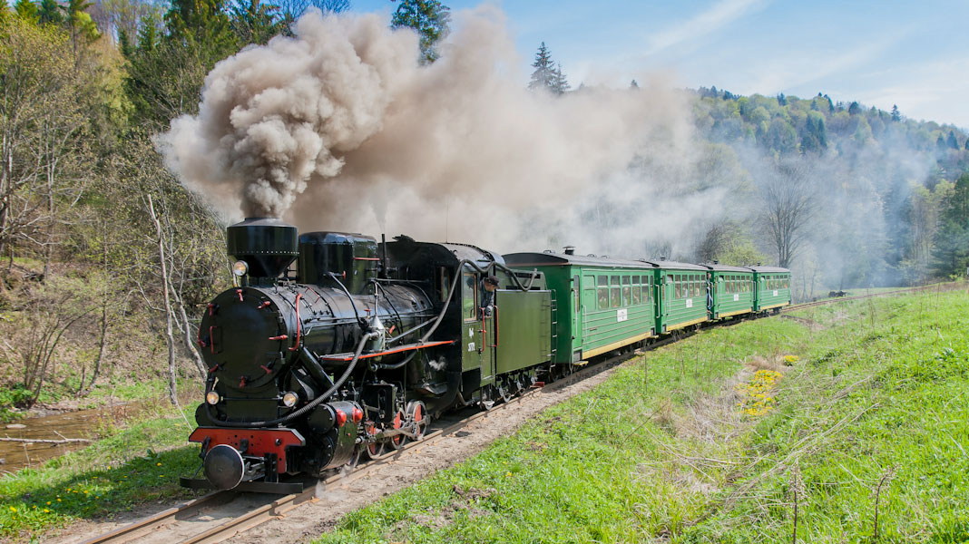 Bieszczady railroad