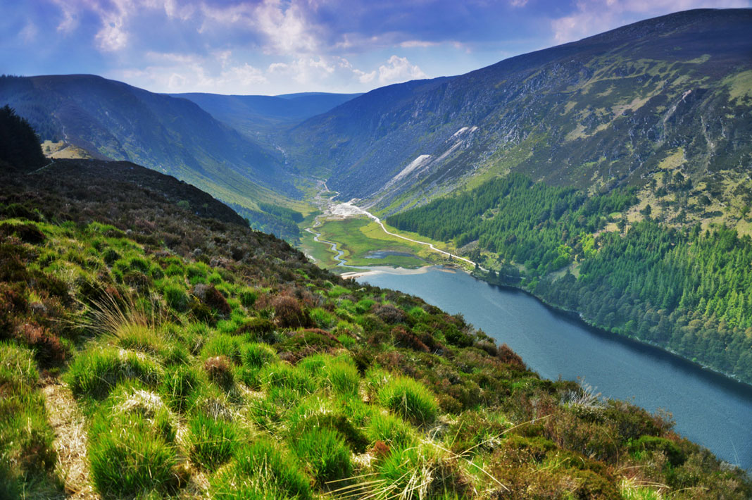 tur irland wicklow mountains
