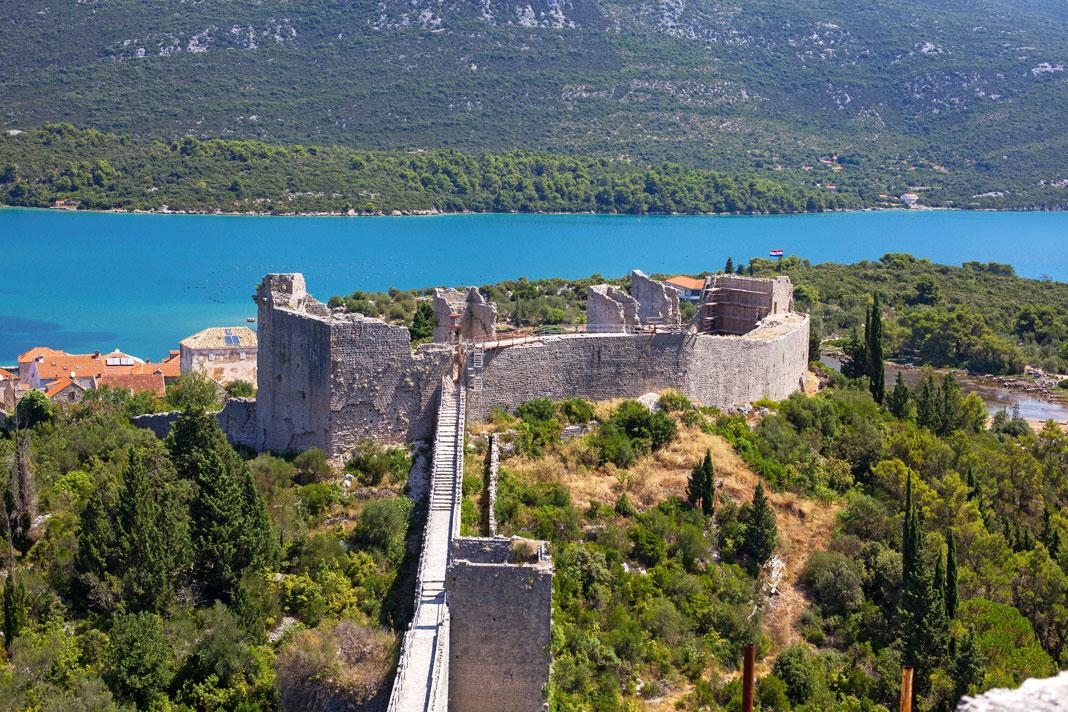 ston kroatiens kinesiske mur