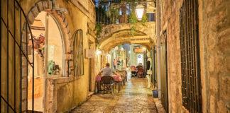 montenegro budva old town