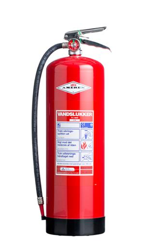 Vandslukker brandslukker
